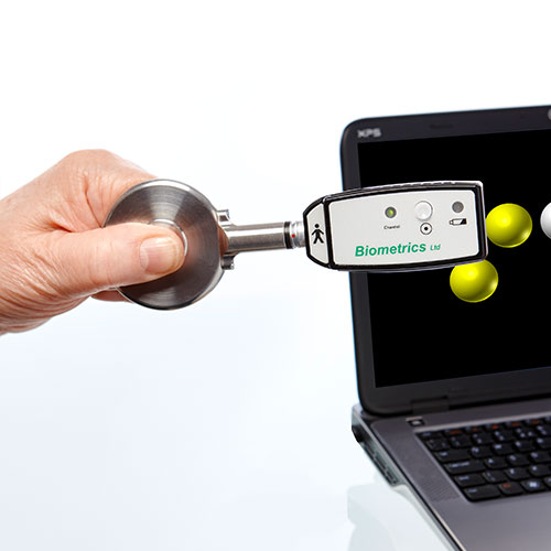 Pinchmeter in Use